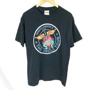 Bon Jovi 2010 Circle Tour Concert T Shirt Merch L